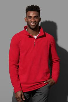 P�nsk� fleecov� mikina Active 1/2 zip