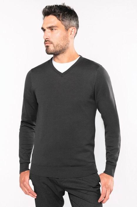Pánský svetr do V Jumper