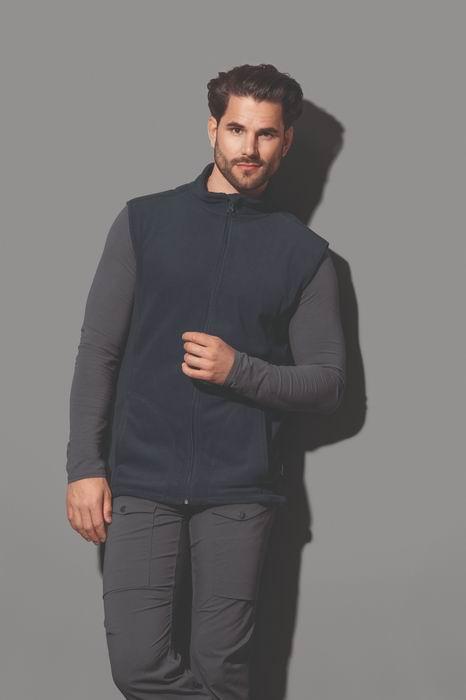 Pánská fleecová vesta Active Stedman