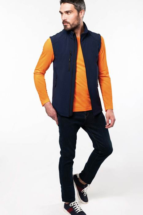 Pánská softshellová vesta