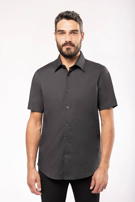 Pánská streèová košile s krátkým rukávem