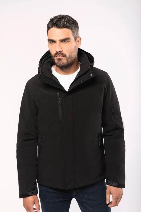 Pánská zimní softshellová bunda Lined Hooded Parka