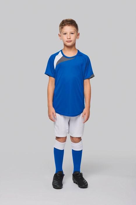 Dìtský fotbalový dres - trièko kr.rukáv