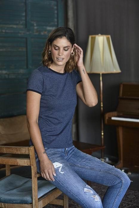 Dámské trièko Ringer Tee - Výprodej